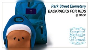 BackPacks for ParkStreet Elementary
