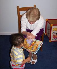 Sister Arlene Gaddis teaching God's Word
