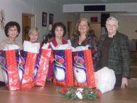 GLCC Women Showcasing Toy Outreach to Children