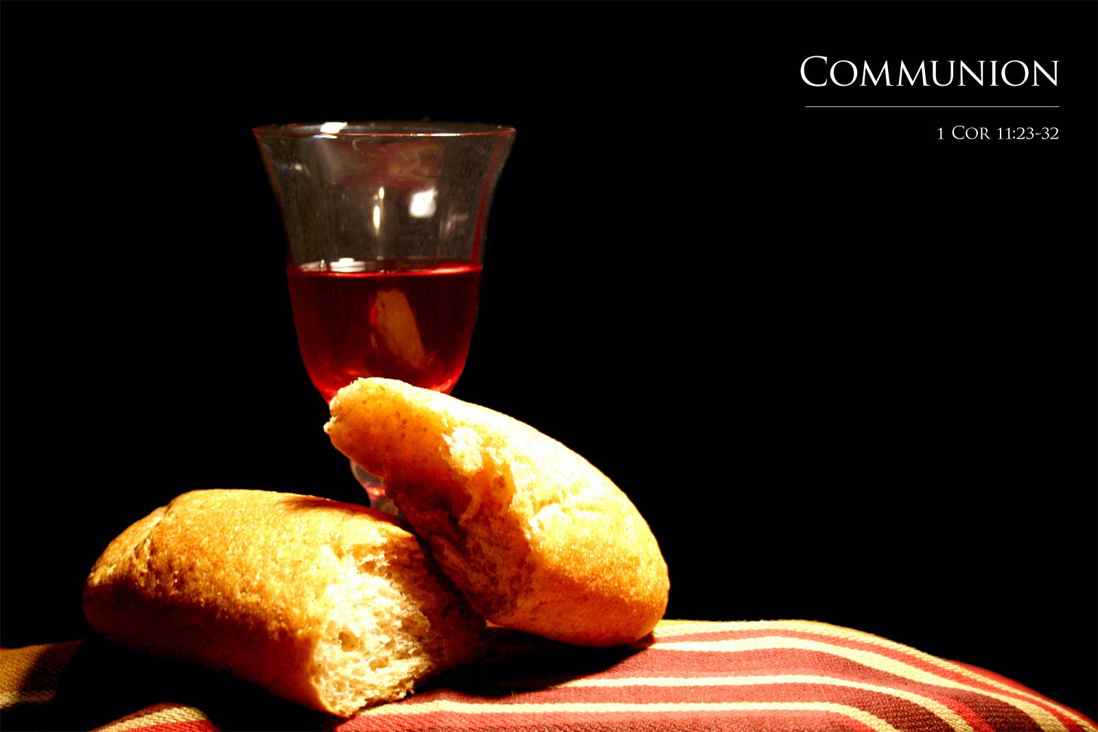 communion gospellight community church