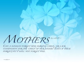 Sunday Bulletin and Hymns – Mother's Day